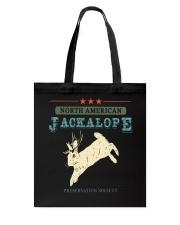 Noth American Jackalope Tote Bag thumbnail