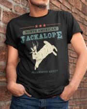 Noth American Jackalope Classic T-Shirt apparel-classic-tshirt-lifestyle-26