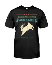 Noth American Jackalope Classic T-Shirt front