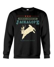 Noth American Jackalope Crewneck Sweatshirt thumbnail