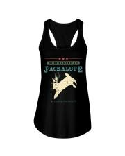 Noth American Jackalope Ladies Flowy Tank thumbnail