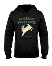 Noth American Jackalope Hooded Sweatshirt thumbnail