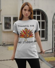 Thankful For My Students Classic T-Shirt apparel-classic-tshirt-lifestyle-19