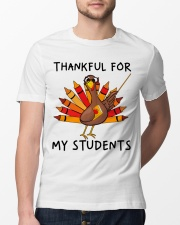 Thankful For My Students Classic T-Shirt lifestyle-mens-crewneck-front-13