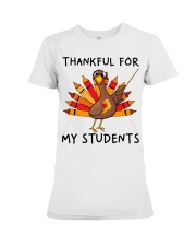 Thankful For My Students Premium Fit Ladies Tee thumbnail