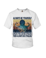 Always Be Yourself Youth T-Shirt thumbnail