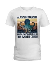 Always Be Yourself Ladies T-Shirt thumbnail