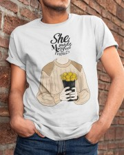 She Made Me Feel Things Classic T-Shirt apparel-classic-tshirt-lifestyle-26