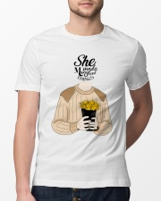 She Made Me Feel Things Classic T-Shirt lifestyle-mens-crewneck-front-13