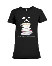 Drink Good Tea Premium Fit Ladies Tee thumbnail