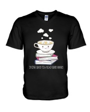 Drink Good Tea V-Neck T-Shirt thumbnail