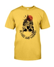 Be Freedom And Wander Classic T-Shirt thumbnail