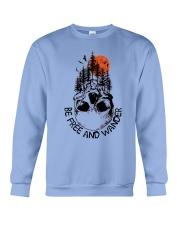 Be Freedom And Wander Crewneck Sweatshirt thumbnail