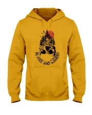 Be Freedom And Wander Hooded Sweatshirt front