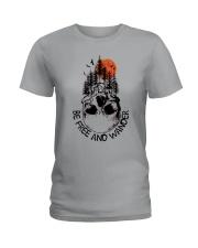 Be Freedom And Wander Ladies T-Shirt thumbnail