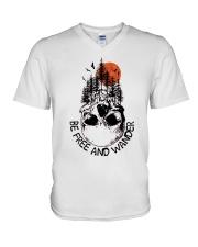 Be Freedom And Wander V-Neck T-Shirt thumbnail
