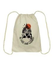 Be Freedom And Wander Drawstring Bag thumbnail