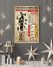 Firefighter Knowledge 11x17 Poster lifestyle-holiday-poster-1