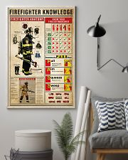 Firefighter Knowledge 11x17 Poster lifestyle-poster-1
