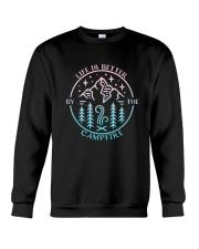 Life Is Better Crewneck Sweatshirt thumbnail