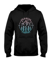 Life Is Better Hooded Sweatshirt front