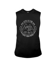 Lets Go Far Away From People 1 Sleeveless Tee thumbnail