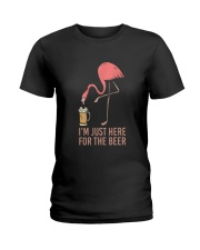 I Am Just Here For The Beer Ladies T-Shirt thumbnail