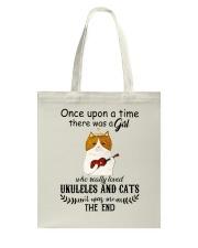Ukuleles And Cats Tote Bag thumbnail