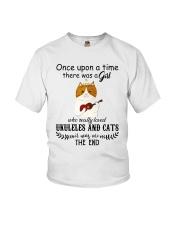 Ukuleles And Cats Youth T-Shirt thumbnail