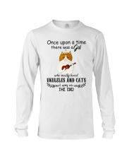 Ukuleles And Cats Long Sleeve Tee thumbnail
