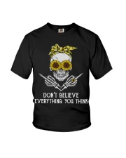 Don't Believe Everything Youth T-Shirt thumbnail