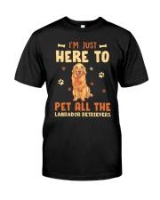 Labrador Retrievers Classic T-Shirt front