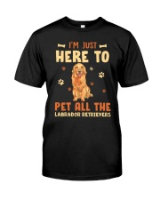 Labrador Retrievers Premium Fit Mens Tee thumbnail