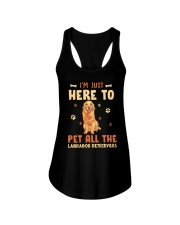 Labrador Retrievers Ladies Flowy Tank thumbnail