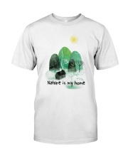 Nature Is My Home Classic T-Shirt thumbnail