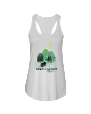 Nature Is My Home Ladies Flowy Tank thumbnail