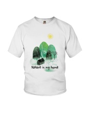 Nature Is My Home Youth T-Shirt thumbnail