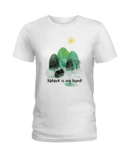 Nature Is My Home Ladies T-Shirt thumbnail