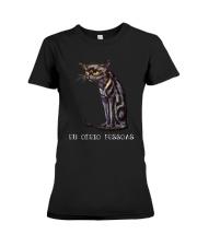 Portugal cat Premium Fit Ladies Tee thumbnail