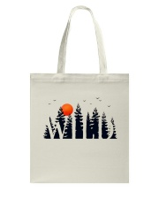 I Love Camping Tote Bag thumbnail