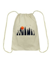 I Love Camping Drawstring Bag thumbnail