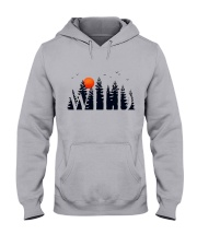 I Love Camping Hooded Sweatshirt thumbnail