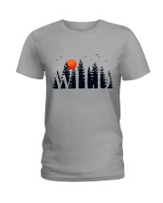 I Love Camping Ladies T-Shirt thumbnail