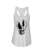 And Into The Forest I Go Ladies Flowy Tank thumbnail