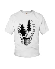 And Into The Forest I Go Youth T-Shirt thumbnail