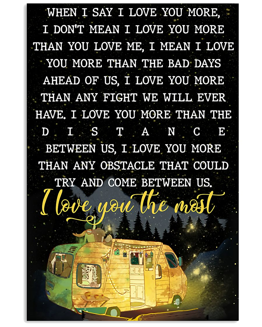 I Love You The Most 11x17 Poster