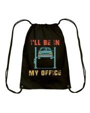 I'll Be In My Office Drawstring Bag thumbnail