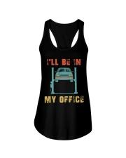 I'll Be In My Office Ladies Flowy Tank thumbnail