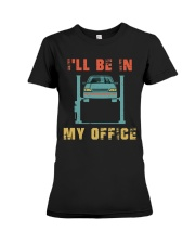I'll Be In My Office Premium Fit Ladies Tee thumbnail