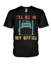 I'll Be In My Office V-Neck T-Shirt thumbnail